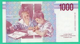1000 Lires - Italie - 1990 - N° MG479270K -   Neuf - - [ 2] 1946-… : République
