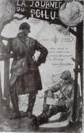 Très Rare Carte Postale La Journée Du Poilu  Guerre 14-18 - 1914-18