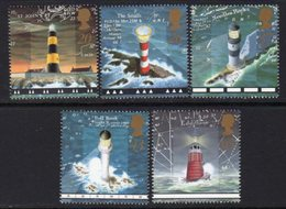 Great Britain 1998 Lighthouses Set Of 5, MNH, SG 2034/8, Ref. 3 - Lighthouses