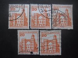 ALLEMAGNE FEDERALE N°842 X 5 Oblitéré - Timbres