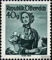Austria 902xc Netzriffelung Unmounted Mint / Never Hinged 1948 Costume Series - 1945-60 Unused Stamps