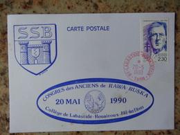 1er Jour Labastide Rouairoux Tarn Congres Des Anciens De Rawa Ruska   1990 - FDC