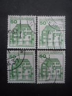 ALLEMAGNE FEDERALE N°877 X 4 Oblitéré - Timbres