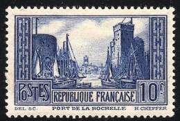 1929 N° 261 T.III  LA ROCHELLE NEUF *     COTE > 85 € - Used Stamps
