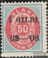Iceland 33A Unmounted Mint / Never Hinged 1902 Print Edition - Prephilately