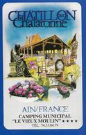 A.C. Camping CHATILLON Sur CHALARONNE AIN - Stickers