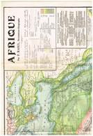 Mural Grande Afrique Par P. Raoul Services Français Réguliers Cie Messagerie Maritimre Caillol-Duvillard - Maroc... Lyon - Geographical Maps