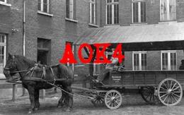 ANTWERPEN 1916 Duitse Bezetting Trekpaard Paard Kar Feldpost Fuhrwerksammelstelle - Antwerpen