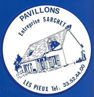A.C. Entr. Sarchet LES PIEUX Pavillons - Stickers