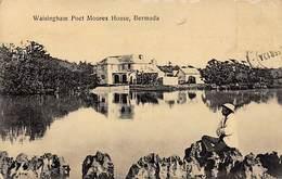 Bermudes-Bermuda :  Waisingham Poct Moores House     (voir Scan) - Bermuda