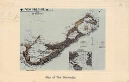 Bermudes-Bermuda :   The Map     (voir Scan) - Bermuda