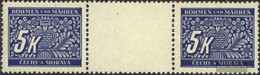 Bohemia And Moravia P12 Between Steg Couple Unmounted Mint / Never Hinged 1939 Postage Stamps - Bohemia & Moravia