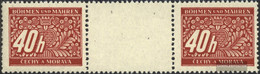 Bohemia And Moravia P5 Between Steg Couple Unmounted Mint / Never Hinged 1943 Postage Stamps - Bohemia & Moravia