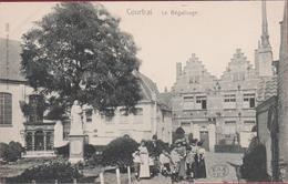Kortrijk Courtrai  Le Béguinage Het Begijnhof Geanimeerd ZELDZAAM (In Zeer Goede Staat) - Kortrijk