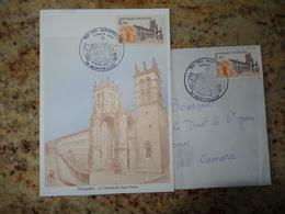 1er Jour Montprllier La Cathedrale St Pierre   1985 - FDC