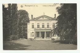 Waregem - Waereghem   *   Kasteel - Chateau De Waereghem - Waregem
