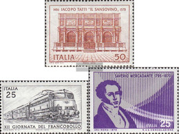 Italy 1316,1327,1330 (complete Issue) Unmounted Mint / Never Hinged 1970 Tatti, Railway, Mercadante - 6. 1946-.. Republic
