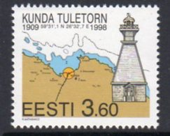 Estonia 1998 Kunda Lighthouse, MNH, Ref. 23 - Lighthouses