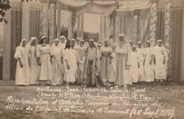 Ermont  (95) - RARE - Carte Photo -Pièce De Théâtre Athalie Donnée Au Profit  De L'hôpital Militaire D'Ermont En 1915 - Ermont