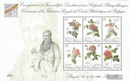 Belgium Block61 (complete Issue) Unmounted Mint / Never Hinged 1990 Belgica 90 - Blocks & Sheetlets 1962-....