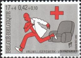 Belgium 3072 (complete Issue) Unmounted Mint / Never Hinged 2001 Red Cross - Belgium