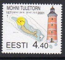 Estonia 2001 Mohni Lighthouse, MNH, Ref. 26 - Lighthouses