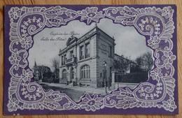 95 : Enghien-les-Bains - Salle Des Fêtes - Décor Broderie / Dentelle En Relief - Inhabituel - (n°13160) - Enghien Les Bains