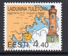 Estonia 2002 Laidunina Lighthouse, MNH, Ref. 27 - Lighthouses