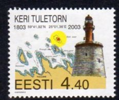 Estonia 2003 Keri Lighthouse, MNH, Ref. 28 - Lighthouses