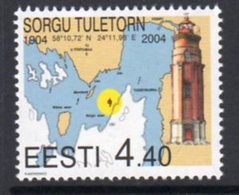 Estonia 2004 Sorgu Lighthouse, MNH, Ref. 29 - Lighthouses
