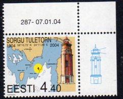 Estonia 2004 Sorgu Lighthouse, MNH, Ref. 30 - Lighthouses