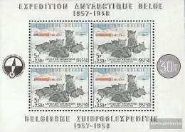 Belgium Block25 (complete Issue) Unmounted Mint / Never Hinged 1957 Südpolarexpedition - Blocks & Sheetlets 1924-1960