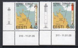 Estonia 2005 Norby Lighthouses Set Of 2, MNH, Ref. 31 - Lighthouses