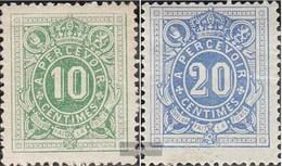 Belgien P1-P2 (completa Edizione) Con Fold 1870 Porto Brand - Sellos
