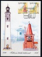 Estonia 2006 Tallinna Lighthouses Maximum Card, Used, Ref. 33 - Lighthouses