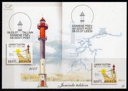 Estonia 2007 Juminda Lighthouse Postcard, Used, Ref. 36 - Lighthouses