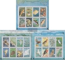 Palau-Inseln 745-768Klb 3 Kleinbogen (kompl.Ausg.) Postfrisch 1994 Tiere Als Postboten - Palau