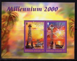Solomon Islands 2000 Millenium Lighthouses MS, MNH, SG 963, Ref. 40 - Lighthouses