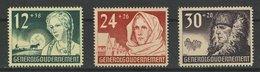 GG Michel Nr. 56 - 58 Postfrisch - Besetzungen 1938-45