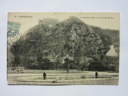 Cherbourg, Le Jardin Public Et Le Fort Du Roule - Cherbourg