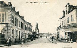 BACCARAT - Le Grand Pont - 6p1a - Baccarat