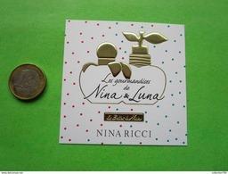 NINA RICCI -  Carte Parfumée - Modern (from 1961)