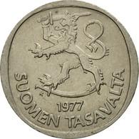 Monnaie, Finlande, Markka, 1977, TTB, Copper-nickel, KM:49a - Finlande