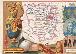 GRANDE CORDONNERIE DE LA GAÎTE - Département De SEINE ET OISE - Trade Cards