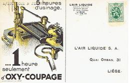 CP Publicitaire LIEGE  1930 - L'AIR LIQUIDE - Liege
