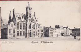 Diksmuide Dixmude L' Hotel De Ville ZELDZAAM 1906 (In Zeer Goede Staat) Edit. Van Cuyck - Diksmuide