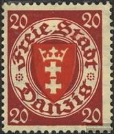 Danzig 196x Un Con Fold 1924 Crest - Danzig