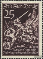 Danzig 305 Gestempelt 1939 Tag Der Briefmarke - Dantzig