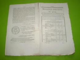 1822:Création D'une Escouade D'Ouvriers Du Génie à L'arsenal De Metz.Caisse D'Epargne Brest:statuts,actionnaires .... - Décrets & Lois