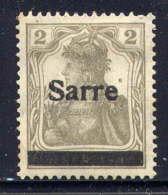 SARRE  - 1* - BAVARIA - Unused Stamps